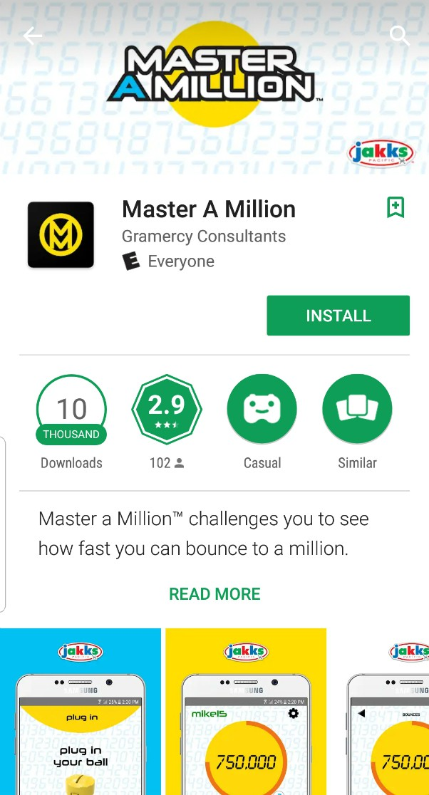 Master a Million Bounces App