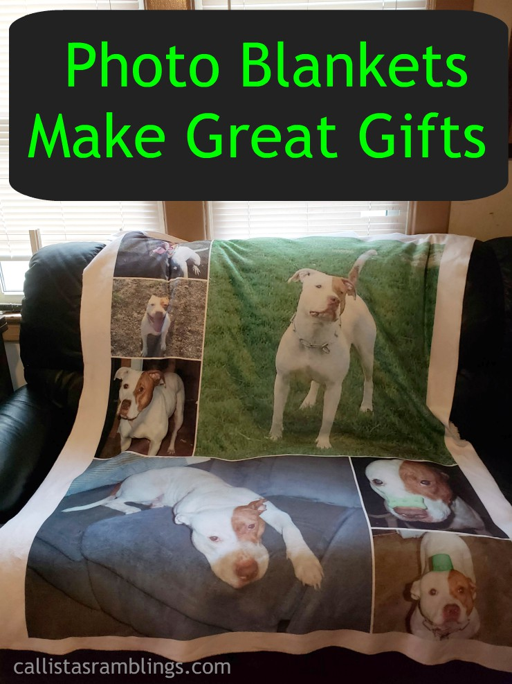 Personalized Photo Blankets from Collage.com