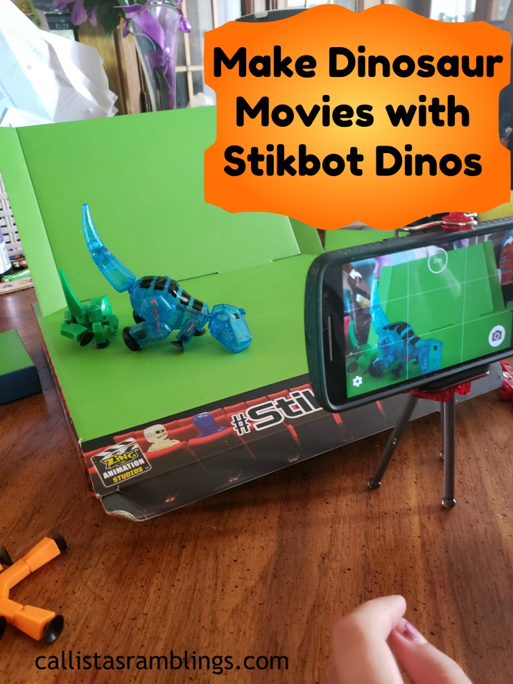 Make Dinosaur Movies with Stikbot Dinos
