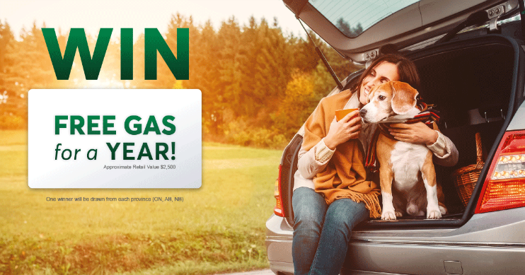 Win A Year of FREE GAS from Desjardins Insurance