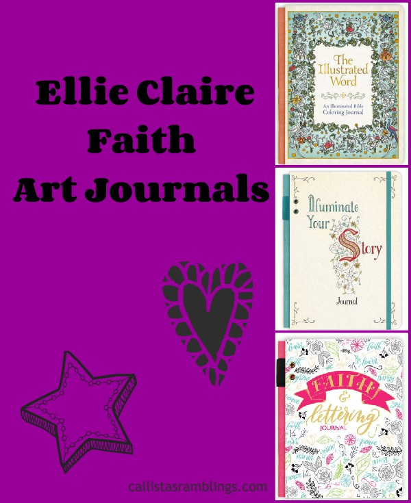 Ellie Claire Faith Art Journals