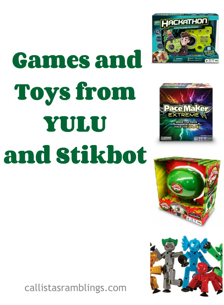 Games and Toys from YULU and Stikbot
