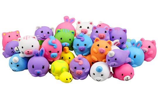 Jigglydoos Collectible Squishy Toys