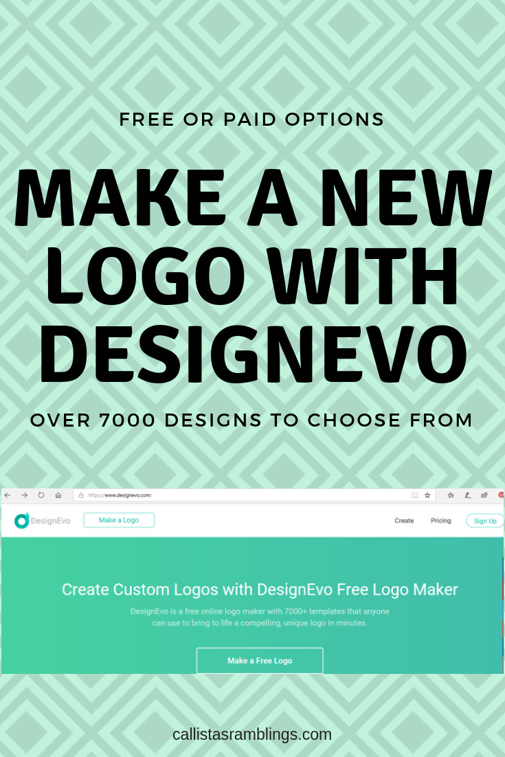 Make a New Logo with DesignEvo