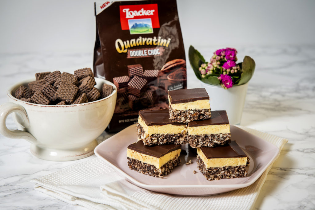 Nanaimo Bar Recipe from Loacker Cookies