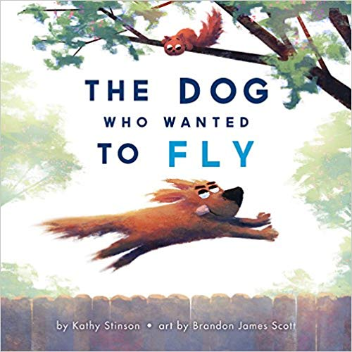 This is a book review of The Dog Who Wanted to Fly by Kathy Stinson