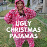 Ugly Christmas Pajamas (+ giveaway)