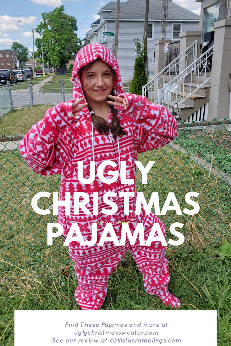 Ugly Christmas Pajamas from UglyChristmasSweater.com