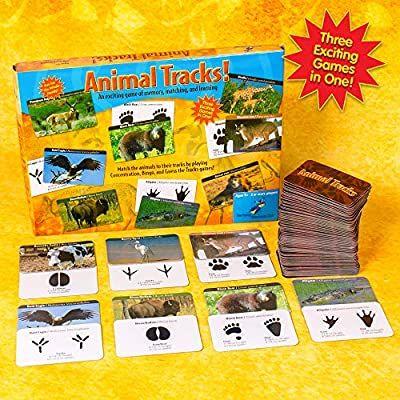 Animal Tracks Game from HorizonGroupUSA - play 3 ways!