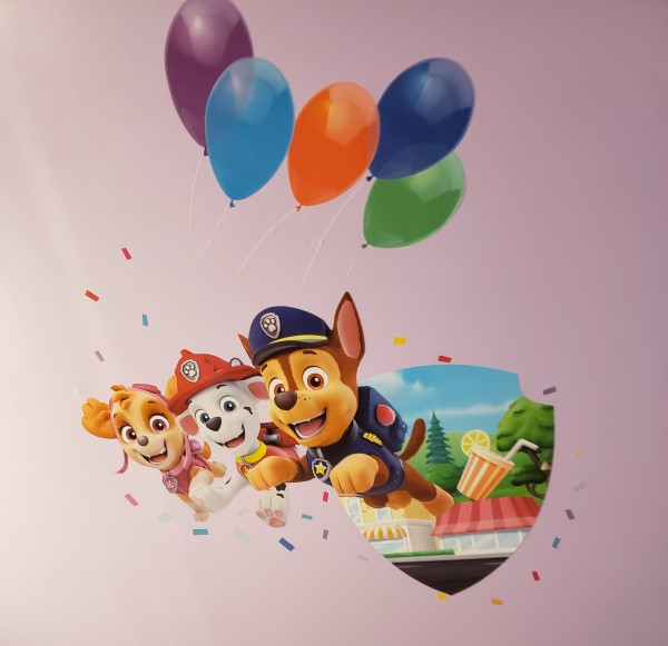 Paw Patrol Wall Stories - decals for your wall that come to life with the Wall Stories App.