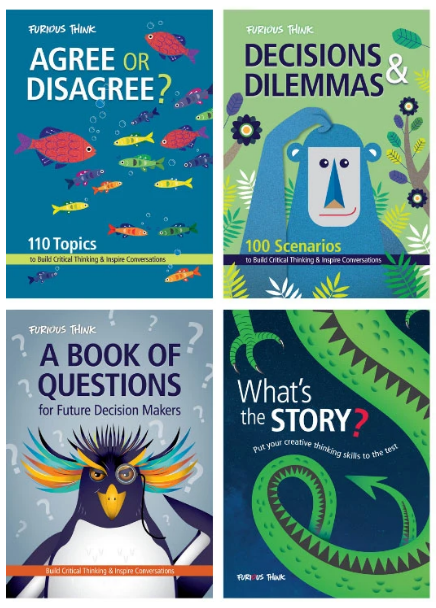 Furious Think Books to Build Critical Thinking & Inspire Conversations
